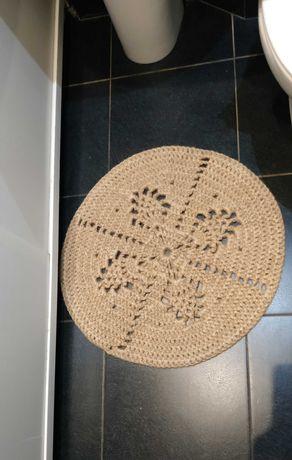 Продам коврик из джутовой нити