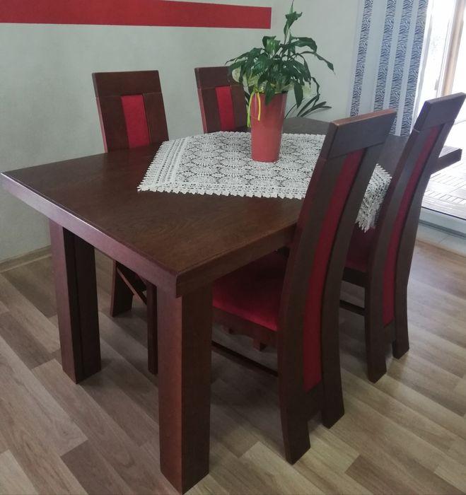 Masywny stół rozkładany 160x90 Wieluń - image 1