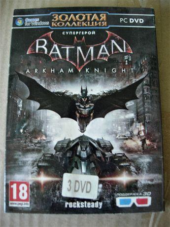 Batman Arkham Knight. PC-DVD. на трех Дисках