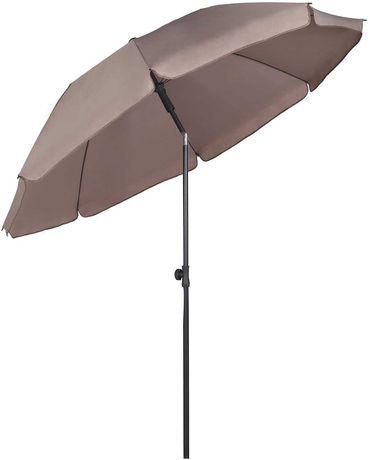OUTLET parasol przeciwsłoneczny 200 cm ogrodowy okrągły łamany