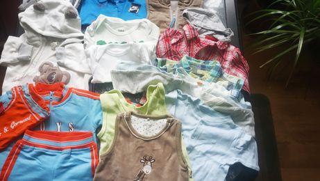 Ubranka chłopięce 56-62