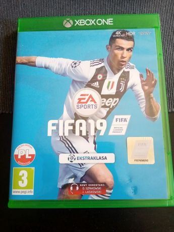 Gra FIFA 19 konsola Xbox one stan idealny