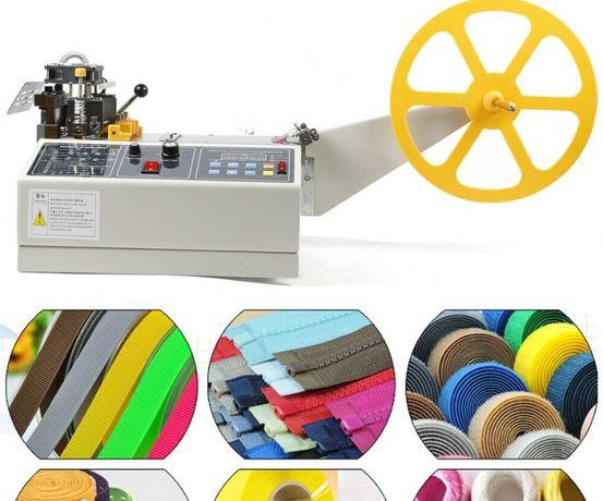 Máquina Automática de Corte de Bandas, Fitas, Tecido, Plástico etc
