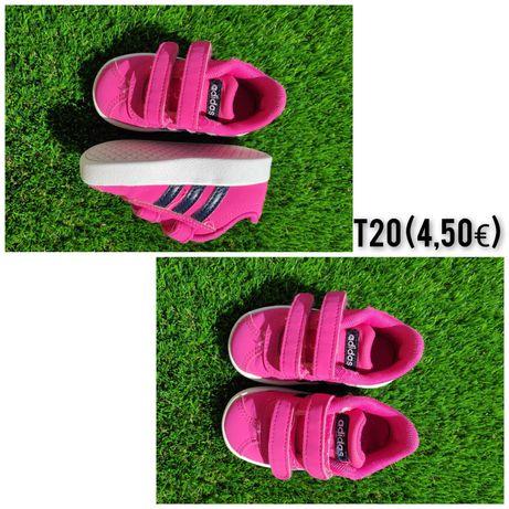 Calçado menina (T20 e T21)