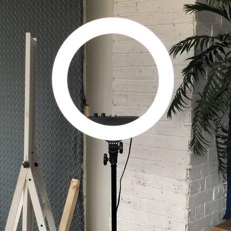 Кольцевая LED Лампа 26,33,36,39,45 см.+Штатив 2.1м..