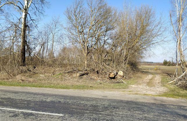 ділянка під забудову 21.13 сотки, Андріївка ,Макарівський р-н,45 км КП