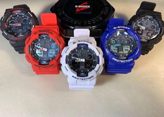 Zegarek Casio G-shock GA-100, NOWE sportowe zegarki męskie i damskie