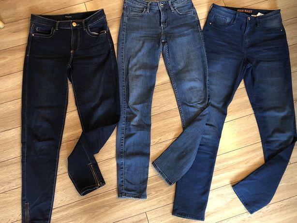 Zestaw Spodnie jeansy Lee, Pieces, H&M