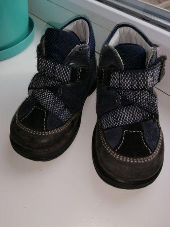 Кожаные ботинки Superfit, стелька 12,5-13 см 19 р.