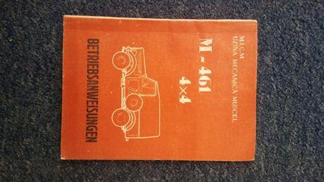 Aro Muscel M-461 instrukcja obslugi