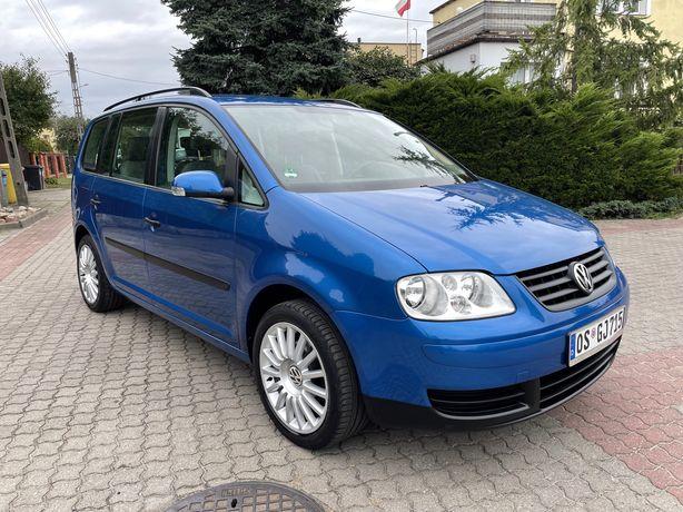 VW Touran 1.6 Benzyna 102KM Sprowadzony Oplacony Stan BDB