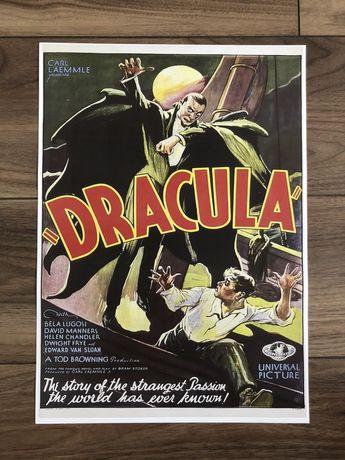 Plakat poster Dracula nowy