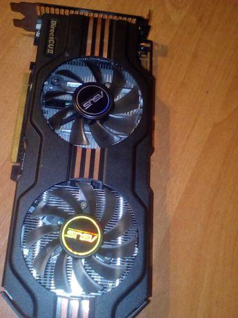 ASUS GTX560 1 Гб DDR5, 256 Bit