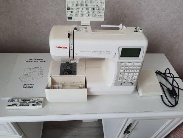 Швейная машинка Janome MC5200
