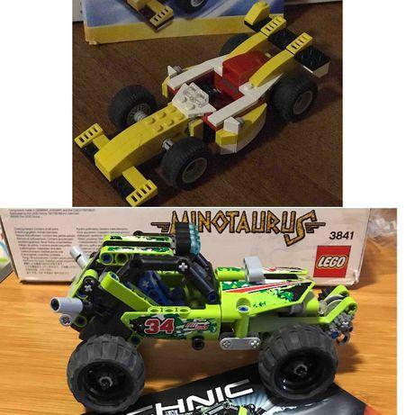 Lego оригинал машины вездеход гоночная