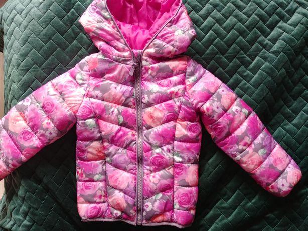 Przepiękna delikatnie pikowana kurteczka przejściow Cool club Smyk 104