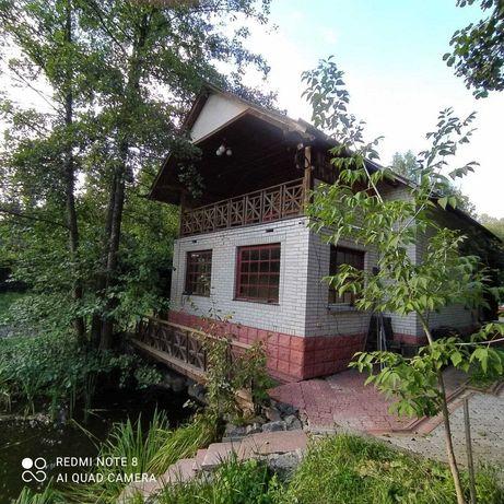 Будинок над озером Богуславський район.