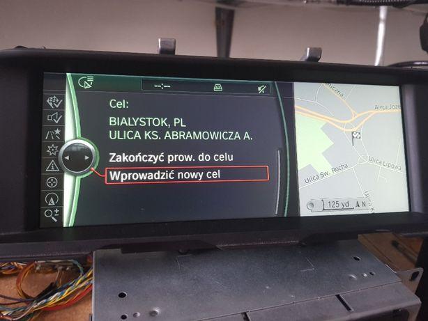 Nawigacja CIC komplet BMW F01 F10 F11 pod dany VIN