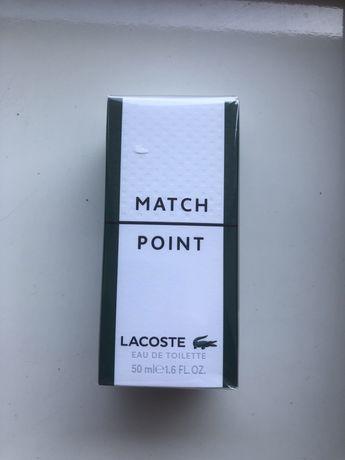 Продам духи LACOSTE Match Point 50 ml, запечатанные из магазина ,новые