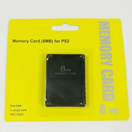 Cartão Memória PS2 8MB - Memory Card PS2 8MB