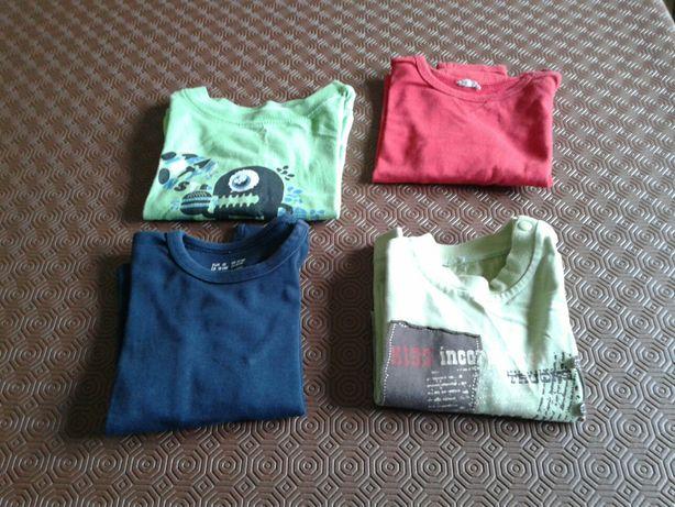 Lote 4 camisolas