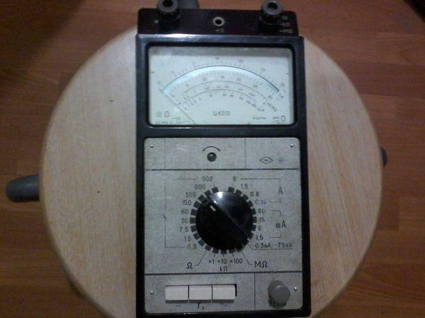 Мультиметр Ц 4312 Амперметр вольтметр