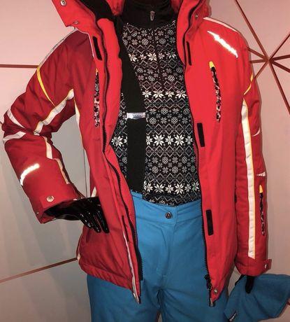 Лыжный костюм (куртка / штаны / шапка / ботинки)