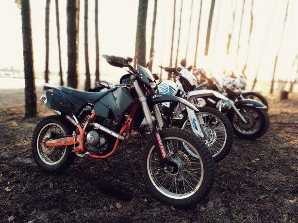 Мотоцикл эндуро geon dakar с мотором yamaha ttr