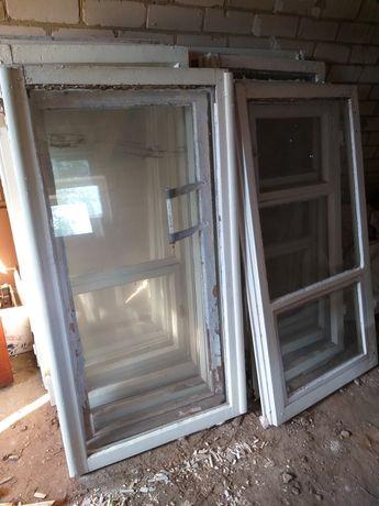 Отдам старые окна