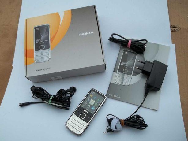 Nokia 6700 Classic Komplet –Bardzo Ładna. Srebrna. WYSYŁKA GRATIS