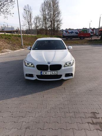 BMW F10 2.0D 184 KM Biała Zadbana