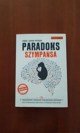Książka Paradoks szympansa Steve Peters 2016 stan idealny
