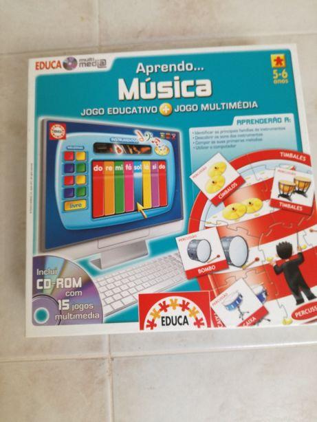 Jogo - Aprende Música...