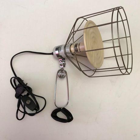 Террариумная керамическая обогревающая лампа и плафон ExoTerra