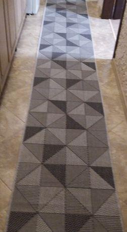 Новая дорожка ковровая 4м, прорезиненная дорожка безворсовая, рогожка