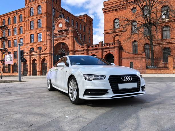 Auto Samochód do ślubu, Audi A7