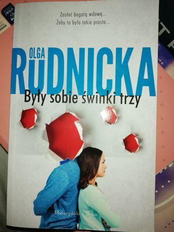 """""""Były sobie świnki trzy"""" Olga Rudnicka"""