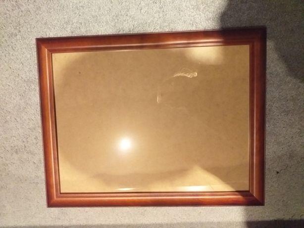 Ramka drewniana oszklona 45x35