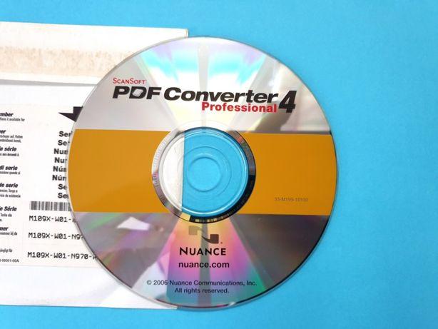 ScanSoft PDF Converter 4 Professional