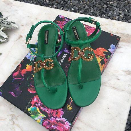 Эксклюзивные босоножки Dolce&Gabbana, 100% кожа, новые!!!