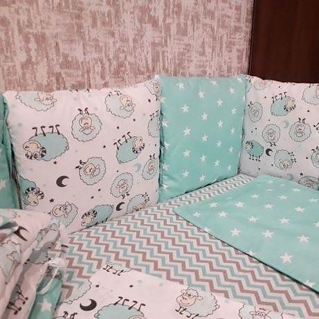 Детское постельное белье, бортик и, подушки и т. д.