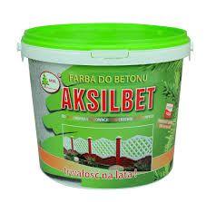 Фарба до бетону AksilBet ,колір Білий 1л