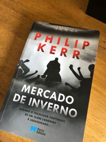 """Livro """"Mercado de Inverno"""" - Philip Kerr"""
