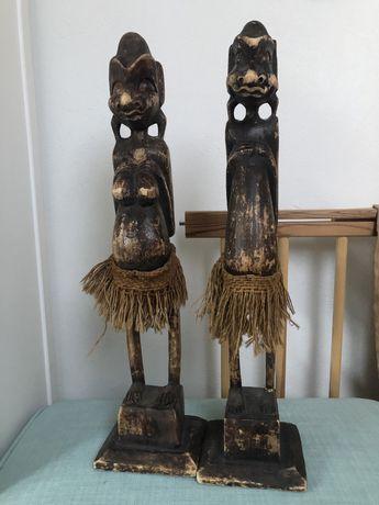 Ozdobne figury z drewna