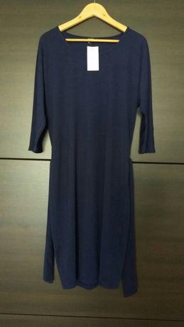 Nowa sukienka Reserved L granatowa