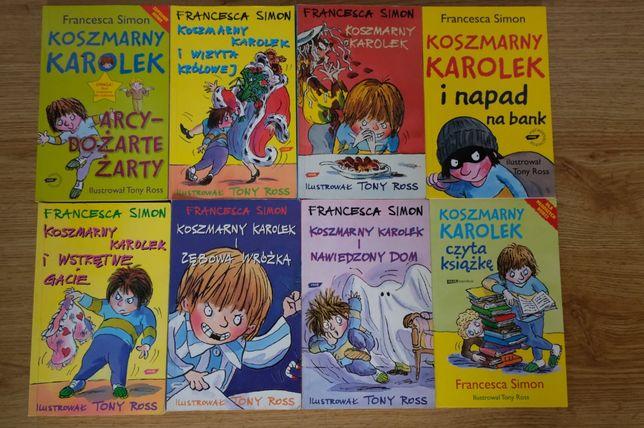 Koszmarny Karolek- książki dla dzieci