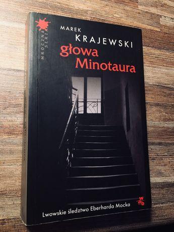 """""""Głowa Minotaura"""" - Marek Krajewski"""