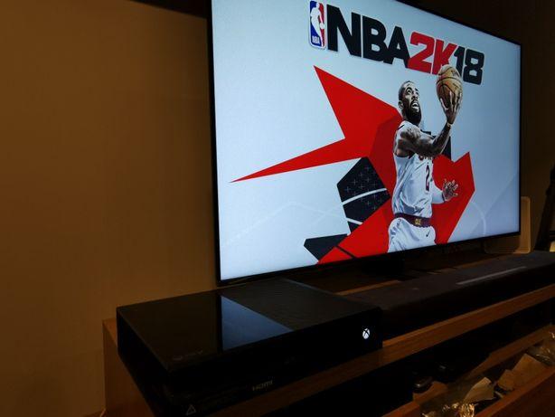 Xbox One 10 gier Forza Horizon Fifa nowa Rocket League + kable pad v3