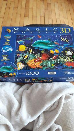 Zamienię puzzle 1000