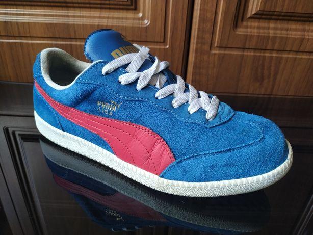Кожаные кроссовки Puma Liga 41 nike blazer sb samba adidas